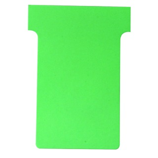 Size 2 Light Green T-Card (100 Pack)
