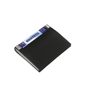 See and Store A4 Display Book 40 Pocket Black