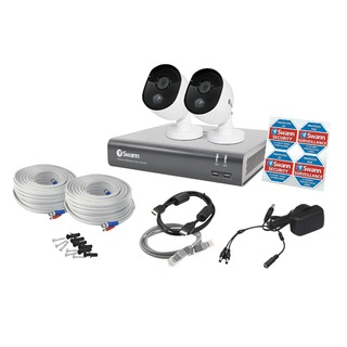 4 Channel Thermal Sensing 2 Camera Security System SWDVK-445802-UK