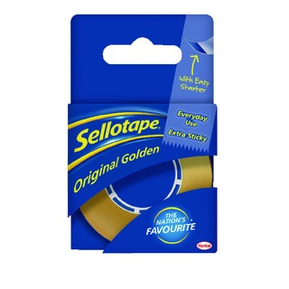 Original Golden Tape 18mm x 25m (8 Pack) 156906