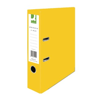 Yellow A4 Paperbacked Lever Arch File (10 Pack)