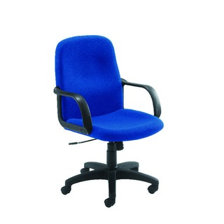 Blue Manager Visitor Star Leg Chair
