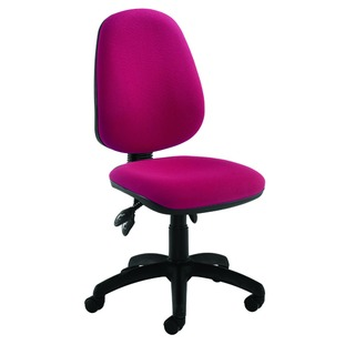 High Back Tilt Operator Claret Chair