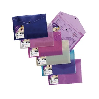 Lite A4 Assorted Polyfile (5 Pack) 154