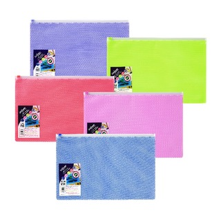 EPPE Zippa-Bag 270 x 395mm Assorted Pack of 5 15816