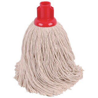14oz Twine Rough Socket Mop Red (10 Pack) 101