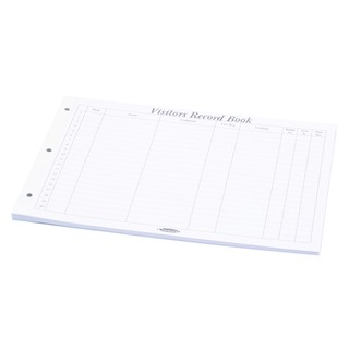 Visitors Book Refill Pages (50 Pack) 85801/CD14P
