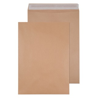 Envelope 458 x 324mm 135gsm Self Seal Manilla (125 Pack) 901100