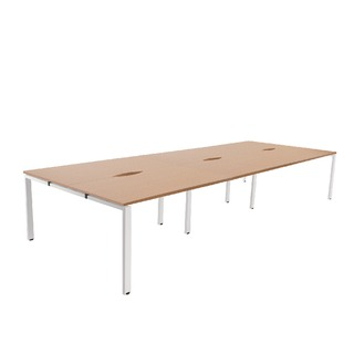 Oak 1200mm 6 Person Bench System
