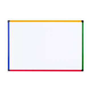 office Coloured Frame Magnetic Drywipe Board 900x600 M