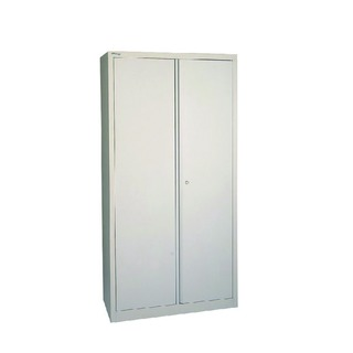 Grey 2 Door Storage Cupboard 1950mm