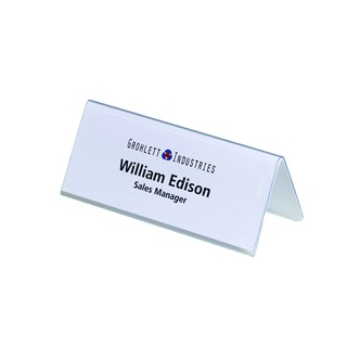 Table Name Holder 61x150mm (25 Pack)