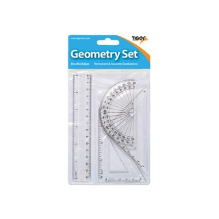 mall 4 Piece Geometry Set Pack of 12 3