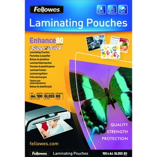 Super Quick A4 Laminating Pouches 160 Micron (100 Pack) 5440001