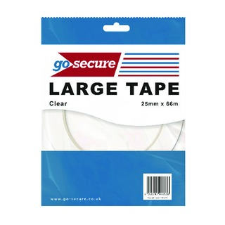 Secure Large Tape 25mmx66m (24 Pack)