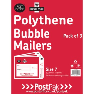 lythene Size 7 Bubble Mailer (13 Pack) 101-3492