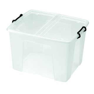 Clear Smart Storage Box 65 Litre HW