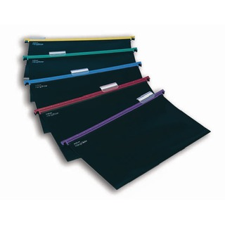 HangGlider Suspension Files Foolscap Assorted (25 Pack) 10279