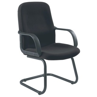 Visitor Cantilever Leg Charcoal Chair