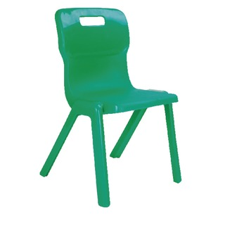 1 Piece 430mm Green Chair (10 Pack)