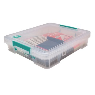 9 Litre Clear W430xD360xH90mm Store Box