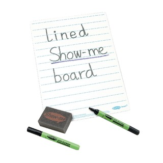Me A4 Lined Whiteboards (35 Pack) C/LIB