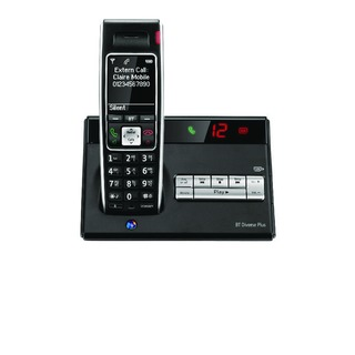 Diverse 7450 R DECT Cordless Phone With Answer Machine 060