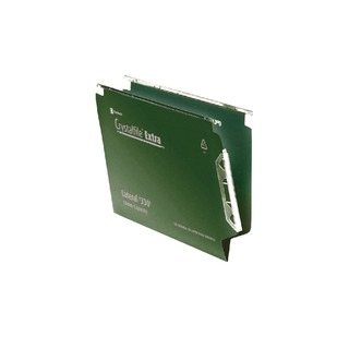 Crystalfile Extra Lateral File 15mm Green (25 Pack) 3000121