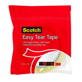 Scotch Easy Tear Clear Everyday Tape Single Roll GT500077224