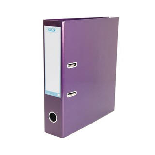 Classy Lever Arch A4 Met Purple (3 Pack)