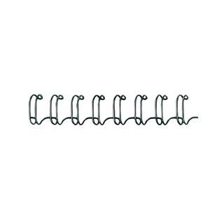 6mm Black Wire Binding Element (100 Pack)