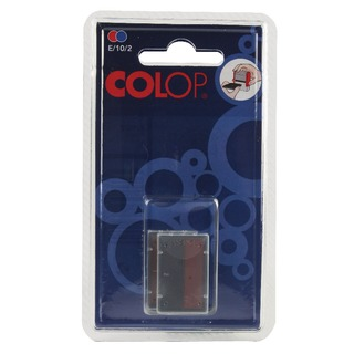 E/10/2 Replacement Blue/Red Pad (2 Pack) E/10/2