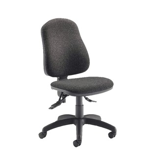 Plus Deluxe High Back Operator Charcoal Chair