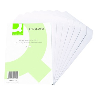 C5 Envelope 90gsm Self Seal White (500 Pack)