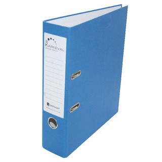 Karnival A4 Lever Arch File 70mm Blue (10 Pack) 20743EAST