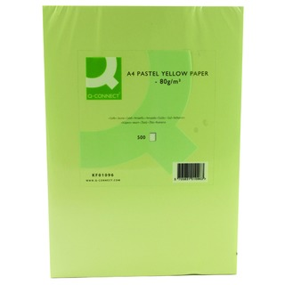 Yellow Copier A4 Paper 80gsm (500 Pack)