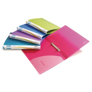 2 Ring Binder 25mm Assorted (10 Pack) 0716