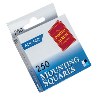 pany Photo Mounting Squares White (250 Pack) MS25