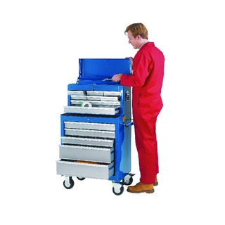 8 Drawer Blue Tool Chest 32