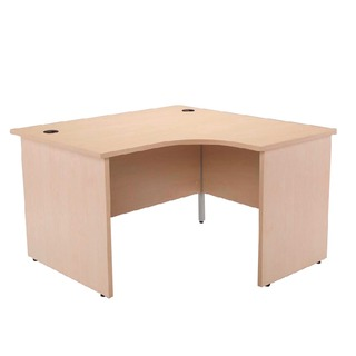 Maple 1200mm Right Hand Panel End Radial Desk