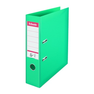 Esselte Polypropylene A4 75mm Turquoise Lever Arch File (10 Pack)