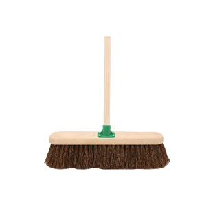 Bassine Broom With Handle 18 Inch G.12/Black T/C4