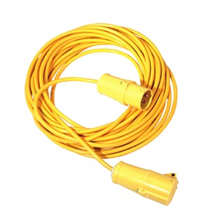 Yellow 14 Metre 16 Amp Cable Extension Lead 349793