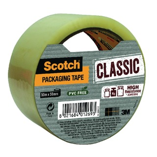 Classic 50mmx50m Clear Packaging Tape CL.5050.S.T