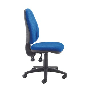 Concept High Back Permanent Contact Operator Blue Chair
