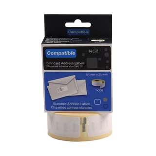 Compatible DYMO Return Address Label 54 x 25mm (500 Pack)