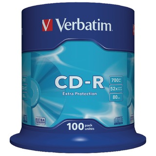 CD-R Datalife Non-AZO 80minutes 700MB 52X Non-Printable Spindle (100 Pack)