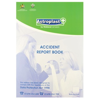Accident Report Book A4 5401016