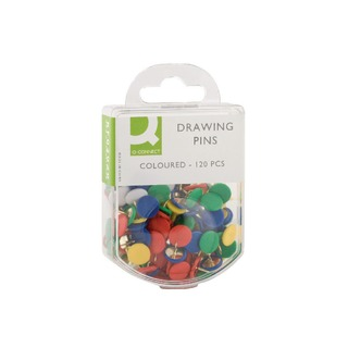 Drawing Pin Coloured Head (1200 Pack)