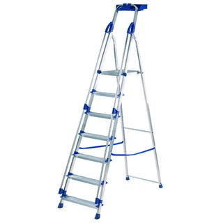 Blue Seal 7 Tread Professional Aluminium Step Ladder
